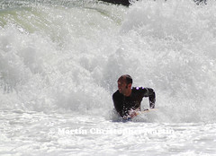 Body Boarder (martin christopher-martin) Tags: brighton sussex westsussex seaside coast beach summer holiday sea water surfer surf waves bodyboard spray sport extremesport nutcase