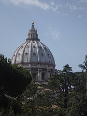 Saint Peter's Dome (Martin Lopatka) Tags: rome italy roma italia old culture europe building architecture stone structure vatican done coupela