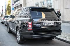 Russia (St. Petersburg) - Land Rover Range Rover Vogue SDV8 (PrincepsLS) Tags: russia russian license plate 98 st petersburg germany berlin spotting land rover range vogue sdv8