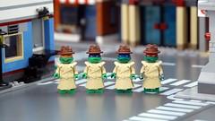 Undercover (Hobbestimus) Tags: toys lego cartoon 80s leonardo michelangelo raphael donatello ninjaturtles teenagemutant