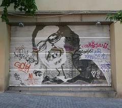 (neppanen) Tags: madrid streetart spain espanja discounterintelligence sampen