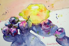 """""""family trip"""" - watercolour (Nora MacPhail) Tags: original summer art watercolor painting sketch paint handmade drawing sketching july watercolour draw today noramacphail torontowatercoloursociety worldwatercolormonth2016 worldwatercolormonth"""