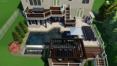 Largo Concept 1 (The Sharper Cut Landscapes) Tags: landscapedesign landscaping hardscape patio deck pool waterfall playground basketball court pergola trellis outdoordining outdoorkitchen outdoorentertainmentarea outdoorlivingarea landscapelighting plantings