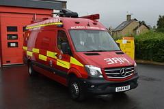 SA64 AUE (markkirk85) Tags: fire engine appliance cambs mercedes benz 208d incident command unit cambridgeshire rescue service a27 huntingdon sa64 aue sa64aue emergency one