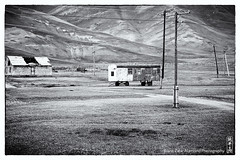 desolation (alamond) Tags: desolation road ruins carriage wires kyrgyzstan bw blackandwhite monochrome canon 7d markii mkii llens ef 1740 f4 l usm alamond brane zalar