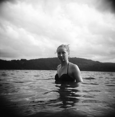 Tam - Lac d'Issarls, Ardche (Ludovic Macioszczyk Photography) Tags: tam lac dissarls ardche holga cfn 120 kodak tmax 100 iso aot 2015 road trip holidays vacances expired sun nature countryside sky light ludovic macioszczyk analog photography plastique plastic toy camera cheap film pellicule low fi lomography lomographie vintage photo photographie argentique keep the alive ludos photographs france life shoot art picture world photographe m contraste contrast exposure ngatif dveloppement scan appareil lumire vie  tag monde earth noir et blanc black white monochrome