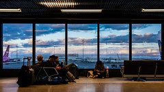 Delayed, Departure (EriccpSam) Tags: keflavik international airport nex7 sony window cloud color sky iceland
