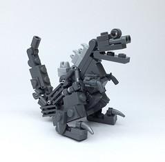 LEGO GODZILLA_07 (ToyForce LEGO Mecha) Tags: lego robot robots mecha mech mechanic legomech legomoc godzilla
