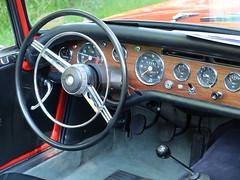 SUNBEAM Alpine 1725 (Tableau de bord) (xavnco2) Tags: fte andelle 2016 forgesleseaux seinemaritime normandie normandy france rassemblement automobile autos cars meeting raduno british car roadster cabriolet convertible sunbeam alpine 1725 rouge red tableaudebord dashboard cruscotto volant volante steeringwheel rootes group
