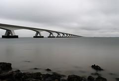 grijs perspectief (Omroep Zeeland) Tags: jan berghout zeelandbrug oosterschelde grijs lange sluitertijd