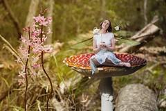 51/365 (Jessie Rose Photography) Tags: fairy teaparty wonderland teaset magic photomanipulation wings