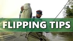 FLIPPING Soft Plastics - Bass Fishing TIPS (profishingrods) Tags: bass fishing flipping plastics soft tips