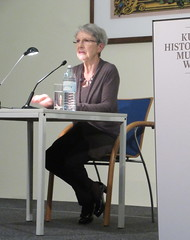 """Kunsthistorisches Museum: """"In Search of the Orient"""": XI congress of Egypt & Austria.  Barbara Frischmut reading from her book """"Vergiss gypten."""" (risotto al caviale) Tags: kunsthistorischesmuseum orient congress egyptaustria"""