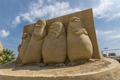 011 - Burgas - Sand Sculptures Festival 2016 - 24.08.16-LR (JrgS13) Tags: bulgarien filmhelden outdoor reisen sand sandscuplturefestivals sandskulpturenfestival urlaub burgas