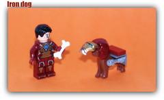 Tony Stark & Iron dog (peter-ray) Tags: super heroes marvel tony stark lego minifigure moc brick peter ray samsung nx2000 dog shi fii