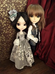 Ivan y Nadia Kovalsky (Lunalila1) Tags: doll groove junplaning pullip handmade outfit taeyang filato ivan kovalsky youtsuzu nadia