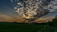 Clouds in Thrapston