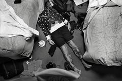 UK muder (Stefano-Bosso) Tags: christmas uk people bw london monochrome tattoo fun mono noiretblanc beds room tattoos deer murder nero whiteblack btw stefanobosso whiteblackphotos