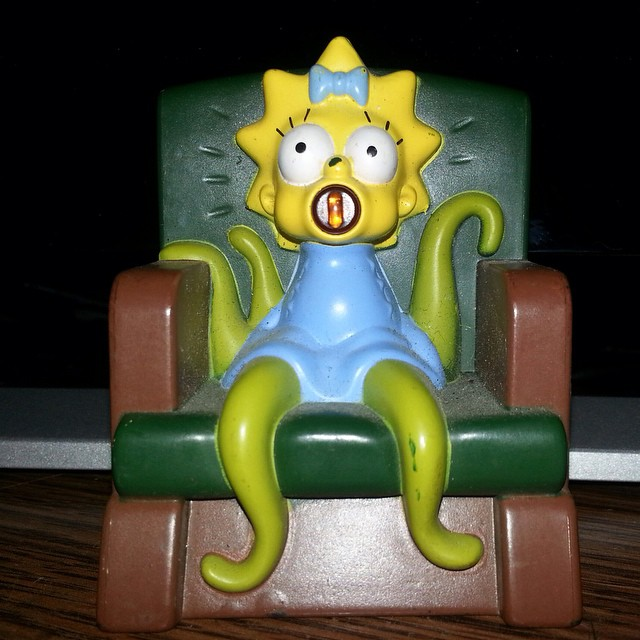 Lil MAGGIE the Martian  #toy #toys #maggie #maggiethemartian #martian #alien #aliens #collection #collectible #collectibles #toyplanet #toycrewbuddies #toys4ever #figures #figurine #figurines #thesimpsons #simpsons #cartoon #mattgroening #plexussimpsons