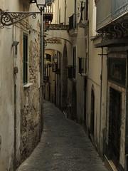 Salerno, Italy (GothPhil) Tags: street urban italy buildings march alley campania lane narrow salerno 2014 viadellabotteghelle