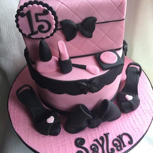 Phenomenal Girls 15Th Birthday Cake Happy Birthday Saylan Xx A Photo On Birthday Cards Printable Riciscafe Filternl