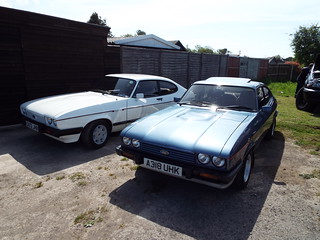Ford Capri 2.8 Injection Coupes