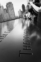 (bvanm) Tags: newyorkcity blackandwhite newyork water monochrome ferry remember 911 wtc groundzero brooklynn ferryboat newyorklife brooklynnbridge newyorkcitylife