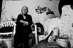 People in Cretan villages (Eleanna Kounoupa) Tags: people blackandwhite bw women village greece crete oldpeople     blackwhitephotos visari