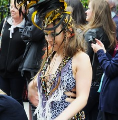 Carnival 2016 041 (byronv2) Tags: edinburgh edimbourg scotland edinburghjazzfestival edinburghjazzfestival2016 jazzfestival festival edinburghfestival princesstreet newtown parade candid street peoplewatching colours costume carnival carnival2016 woman girl boobs breasts cleavage sexy pretty dance dancer dancing downblouse sideboob tits