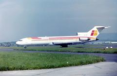 A704E EC-CFI B727-256 Iberia GLA (fergusabraham) Tags: eccfi b727 iberia aviaco gla boeing727 glasgowinternational