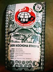 Deri Kochona Ethiopia - JBC Coffee Roaters (Kayakman) Tags: coffee singleorigin ethiopian jbc
