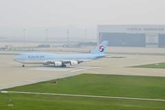 Korean Air 747 (A. Wee) Tags: korea  incheon airport  seoul  koreanair  boeing 747 747400
