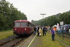Uerdinger Schienenbus (VT 98) auf der Hnnetalbahn (Vitalis Fotopage) Tags: train deutschland zug 98 nordrheinwestfalen vt schienenbus balve hnnetalbahn uerdinger