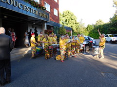 Conducting (quintinsmith_ip) Tags: music playing fun samba play drumming solihull charityball sustain riocarnival someoneatthedoor stjohnshotel ageuk