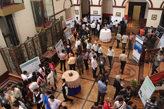 Poster session by