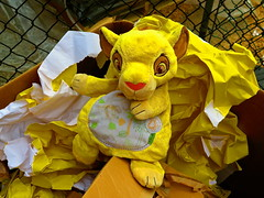 Poor Simba (elbrozzie) Tags: stuffedtoy toy simba