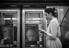someone is watching you (Erwin Vindl) Tags: vienna blackandwhite bw monochrome candid streetphotography someoneiswatchingyou streettogs erwinvindl olympusomd em10markii