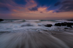 spuma (Marco Brunetti) Tags: pentaxk30 pentax formatthitech giardininaxos sicily sea sunset seascape sky