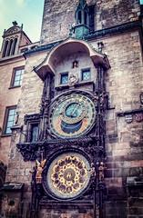 Prague astronomical clock / Czech Republic (stoplamek_travels) Tags: praskizegarastronomiczny praskiorloj praskorloj czechrepublic pragerrathausuhr