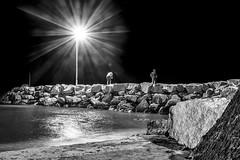 Pescadores 190_2016_6776 (Jos Martn-Serrano) Tags: proyecto proyecto366 proyecto365 365 366 blancoynegro bn nocturnas