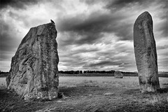 avebury ring 26 july 2016 2 (eventful) Tags: avebury stonecircle circle outdoors landscape xt10 fuji fujifilm ruins surreal texture monochrome blackandwhite