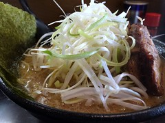 Miso Ramen topped with evegetables from Ajinosen @ Roppongi (Fuyuhiko) Tags:   miso ramen from ajinosen roppongi      tokyo