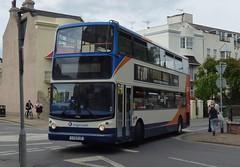 Stagecoach South 17425 (LX51 FJZ) Bognor Regis 21/7/16 (jmupton2000) Tags: lx51fjz coastliner 700 alexander alx400 dennis trident stagecoach south uk bus southdown coastline sussex