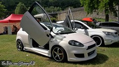 FIAT GRANDE PUNTO (gti-tuning-43) Tags: fiat grande punto tuning tuned modified modded meeting show expo aurecsurloire 2016 cars auto automobile voiture