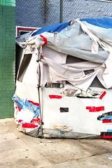 Repair (ADMurr) Tags: leica film la kodak tent tape repair patches dtla m4 ektar