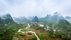 Guilin (abstreich) Tags: guilin china chine karst mountains berge hgel