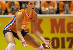 17251415 (roel.ubels) Tags: volleybal volleyball nederland oranje holland zuidkorea southkorea rotterdam topsportcentrum sport topsport 2016