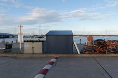 Cray Pots (martyr_67) Tags: crayfish pots craypots apollobay harbour