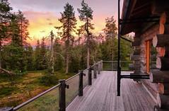 Ruka Sunset (timo_w2s) Tags: ruka kuusamo finland lapland summer sunset clouds hdr