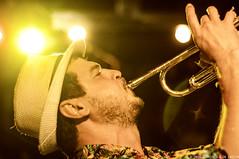 The Guantanameros (Priscila de Cássia) Tags: music musician band show concert stage trumpet colorful flare nikond90 nikon musicphotography latin cumbia